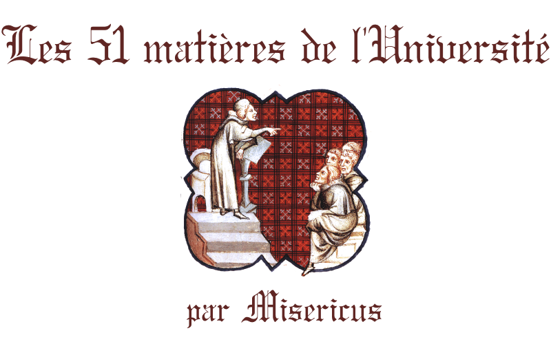 Miséricus - 51 matières - 19 Août 1461 939888universit