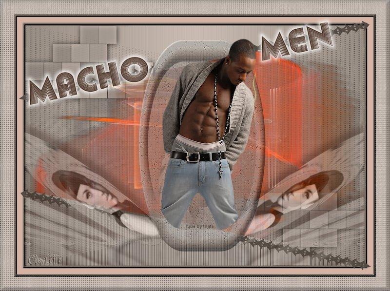 MACHO MEN  /  2013 940738Machomen