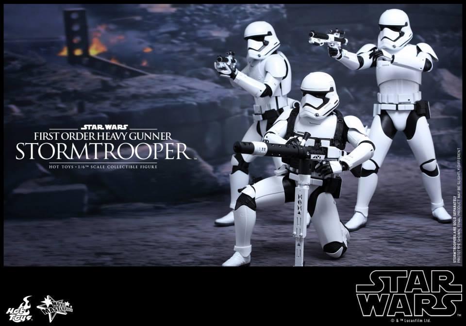HOT TOYS - SW7: TFA - First Order Heavy Gunner Stormtrooper 942389102