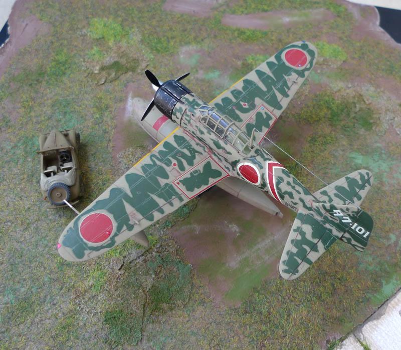"[Hasegawa] - Nakajima A6M2 N ""Rufe"". 943351Rufe39"