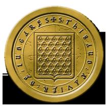 Charte Royale du Royaume de France (02/1460) 947455sceautxilujaune