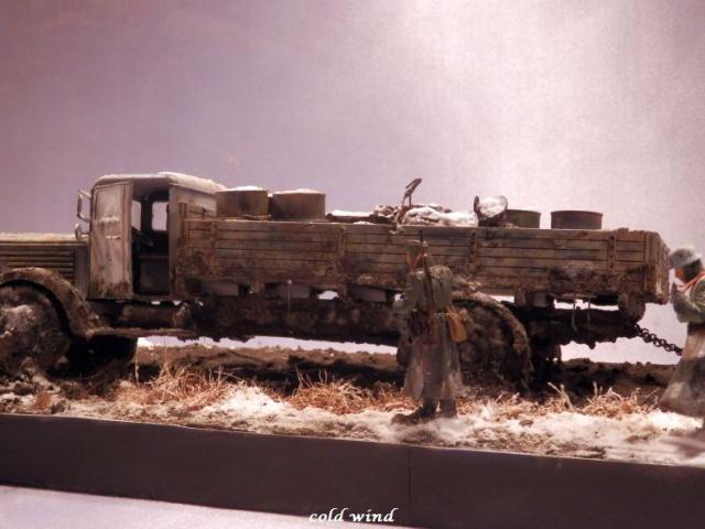 tracteur d artillerie soviétique chtz s-65 version allemande 1/35 trumpeter,tirant 2 blitz de la boue - Page 5 947791PA190039
