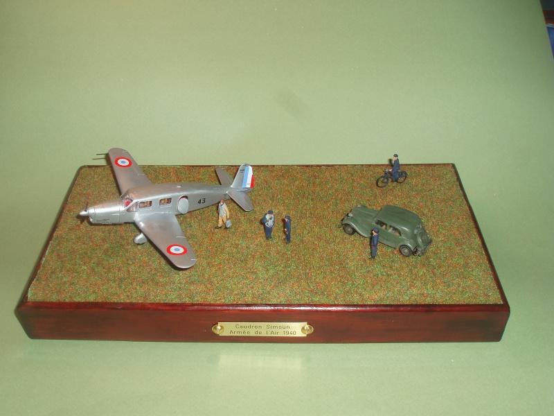 Diorama Caudron Simoun C635 Armée de l 'Air 1940 ! 948037P1010327