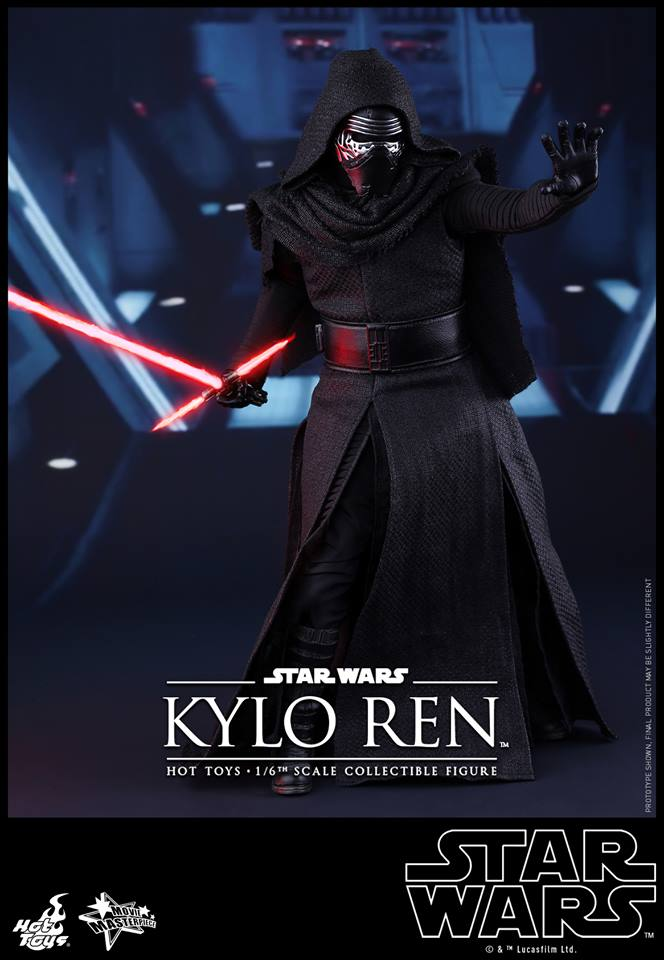 HOT TOYS - Star Wars: TFA - Kylo Ren 948884103