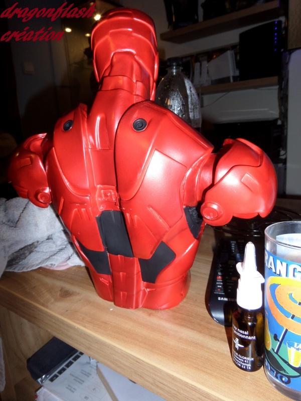 dragonflash création : buste iron man 1/2  (+-40 cm de haut) le final 9496216118