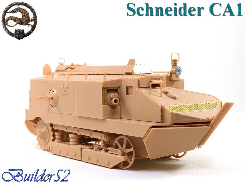 CHAR SCHNEIDER CA 1 - HOBBY BOSS 1/35 950525P1040930