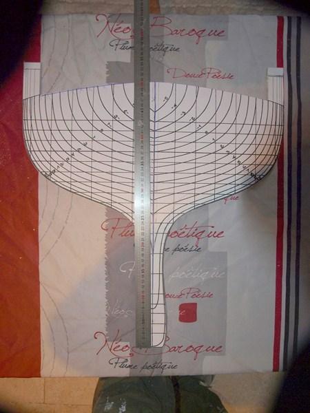 Voilier Reliance BIG j ech 1/16 voile aurique  950549P2114307Copier