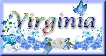 Nombres con  V 9510073Virginia