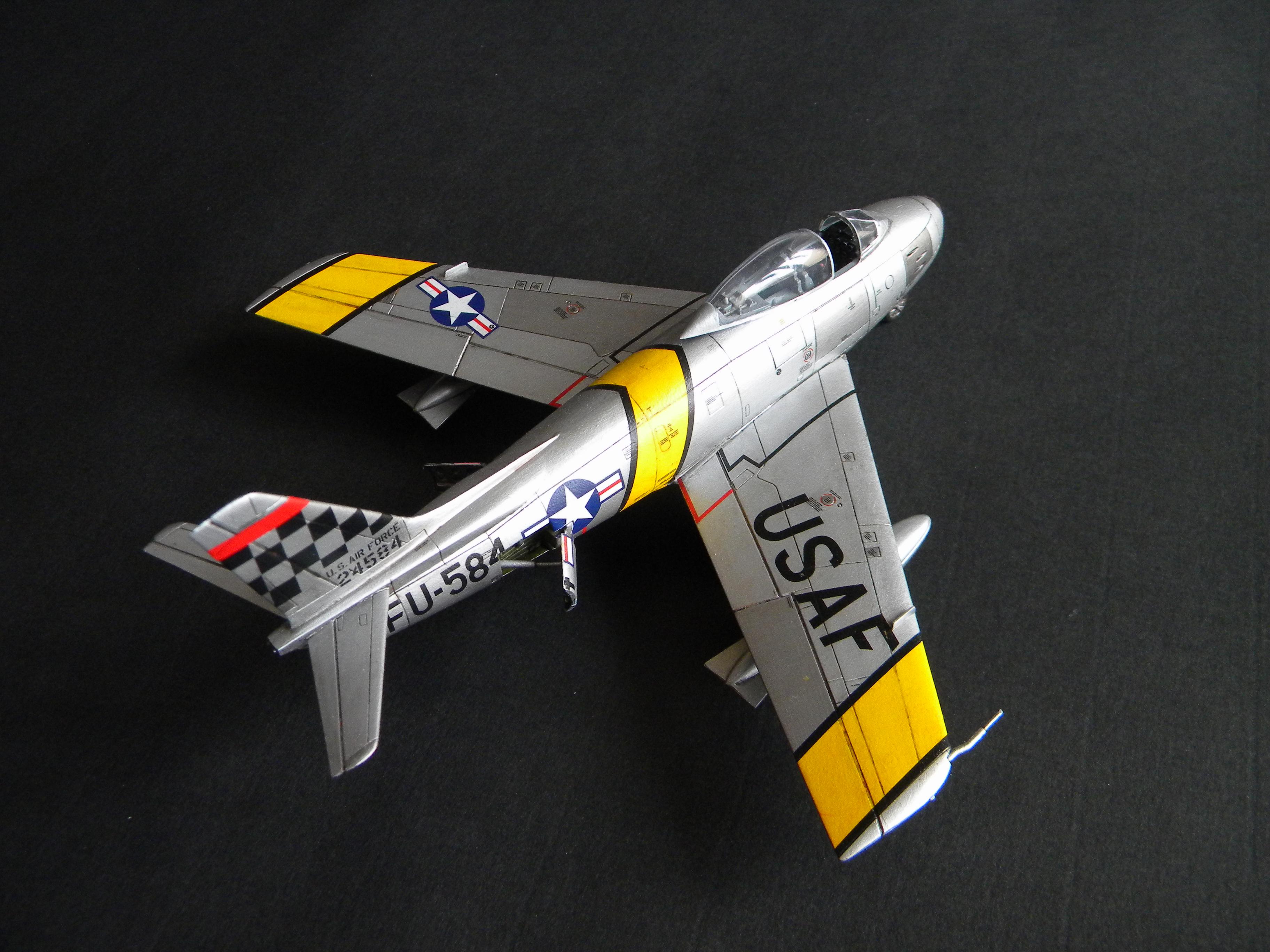 "[Airfix] F-86F Maj. John Glenn ""Mig Mad Marine"" 951057DSCN9685"