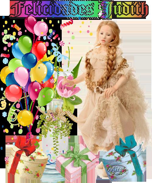 felicitaciones y cumpleaños - Página 2 952419felicidadesJudith2