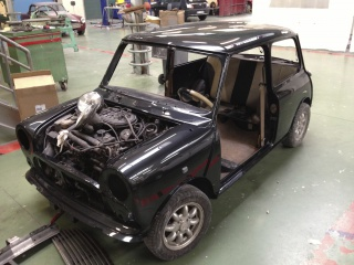 Restauration Mini Austin 1300 Injection 952623IMG4859