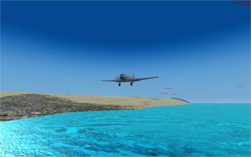 Vol en formation en Afrique (DC3) 953039201322223512655