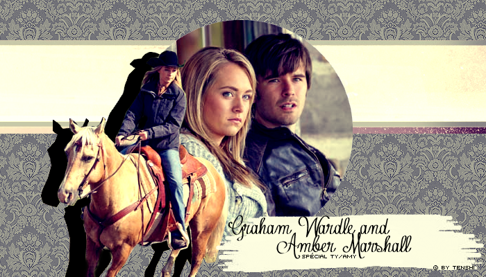 Graham Wardle and Amber Marshall