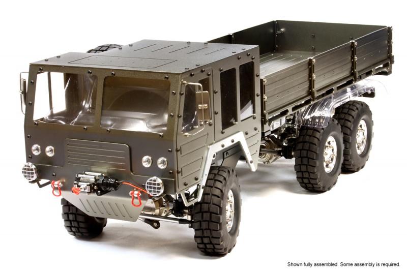 [NEWS]1/10 Scale 6x6 Off-Road Military Truck 954003C25853GUN