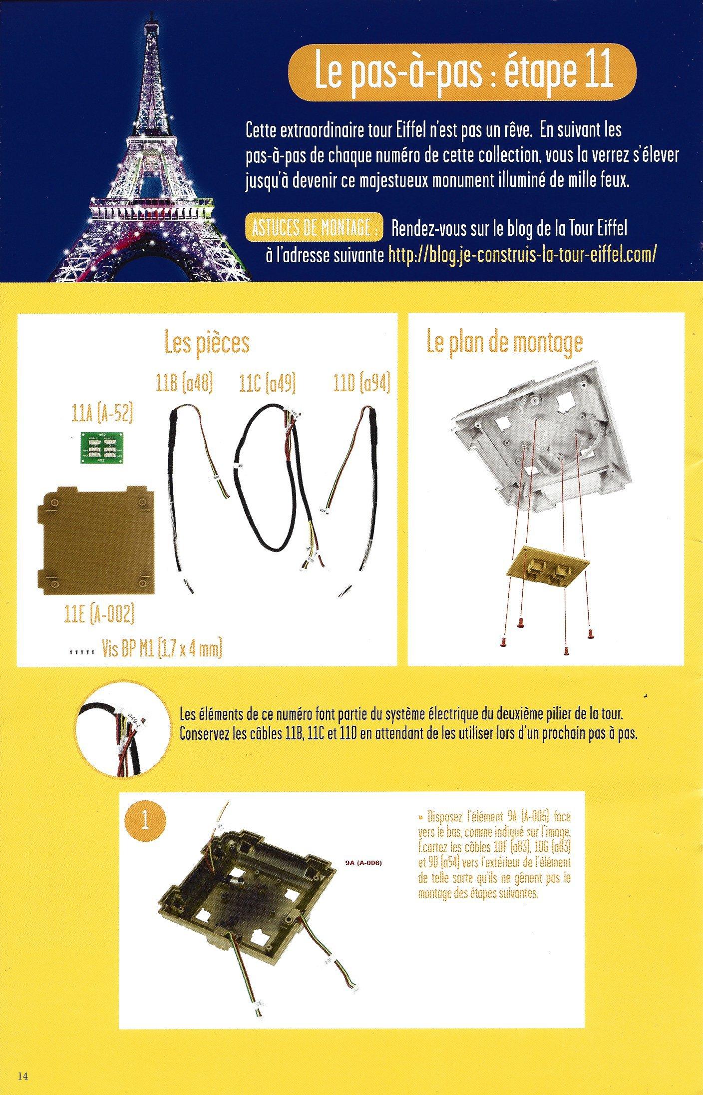 Numéro 11 - Je construis la Tour Eiffel - La tour Eiffel et les plus hautes tours actuelles 95400811b