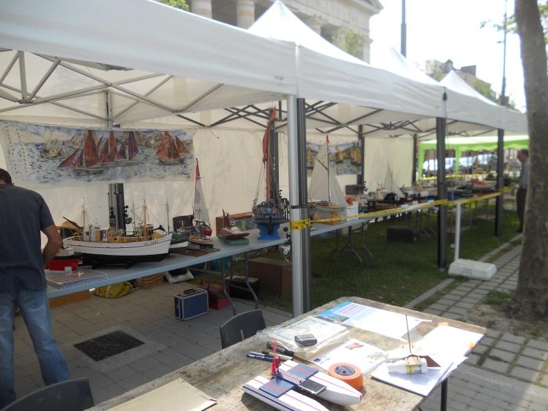 démo de maquettes navigantes sur la place Napoléon à la Roche S/Yon le 31 Mai et le 1er Juin 954459DSCN4044