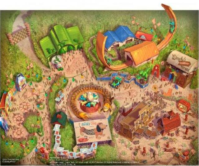 [Shanghai Disneyland] Toy Story Land (2018) - Page 3 954536w760