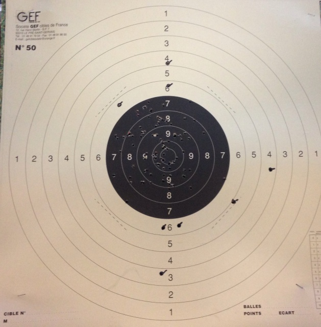 Smith & Wesson model 17 -    22 long rifle   - 25 metres 955450photo2