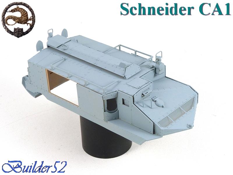 CHAR SCHNEIDER CA 1 - HOBBY BOSS 1/35 957244P1040934
