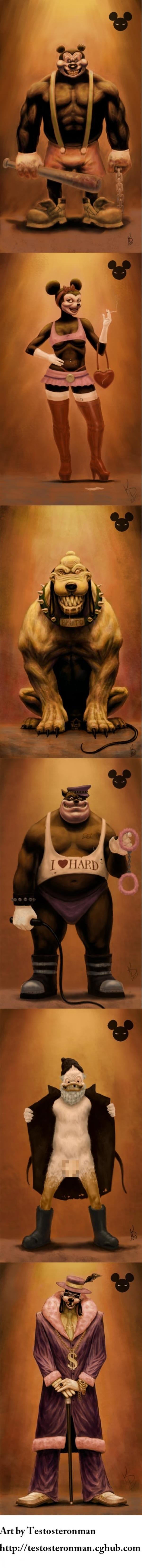 Et si les Disney étaient des films d'horreur ? (Attention âmes sensibles s'abstenir !) 95806020120622225622