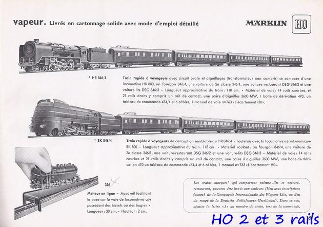 Coffrets Märklin 1936 - 1968 (rouges, noirs, verts ou bleus) 958561Marklincatalogue19512R