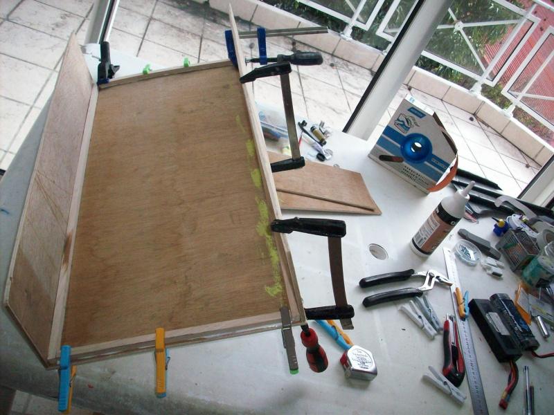fabrication d'une caisse de transport pour le scania 9590021008901