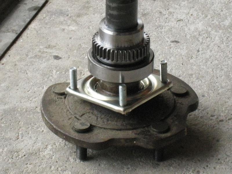 modification flasque tambours arrières pour démontage rapide des roulements 959458IMG2070