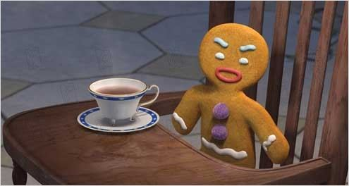 Bonhomme En Pain D Epices Dans Le Dessin Anime Shrek