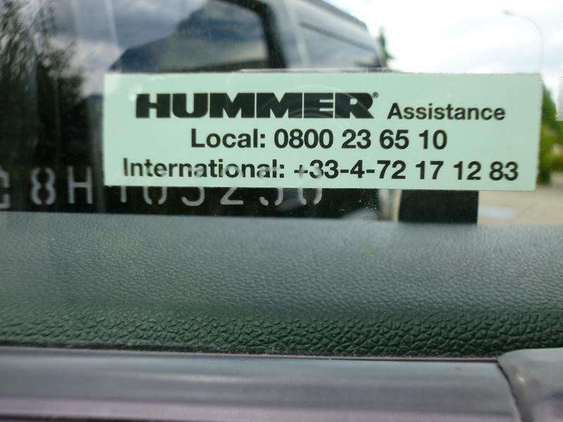 HUMMER H2 V8 6,2L Luxury 2008  (RUN) 960541P1040109