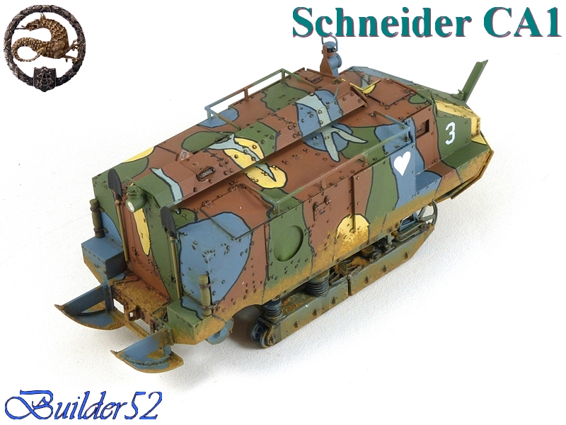 CHAR SCHNEIDER CA 1 - HOBBY BOSS 1/35 962208P1040960