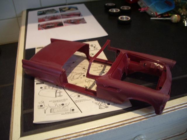 ford thunderbird 1955 au 1/16 de chez amt  9625849007