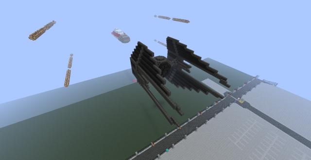 Réalisation des vaisseaux sur Minecraft 96283720120226220927