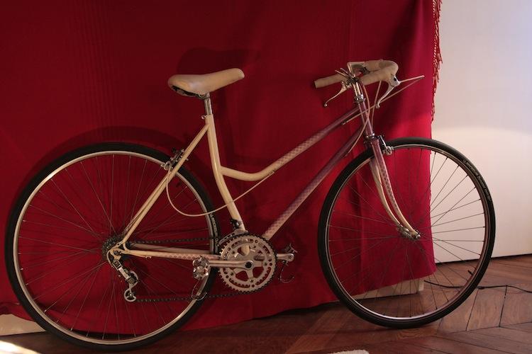 Vélo femme cadre avec tube de selle cintré 962837MG8905