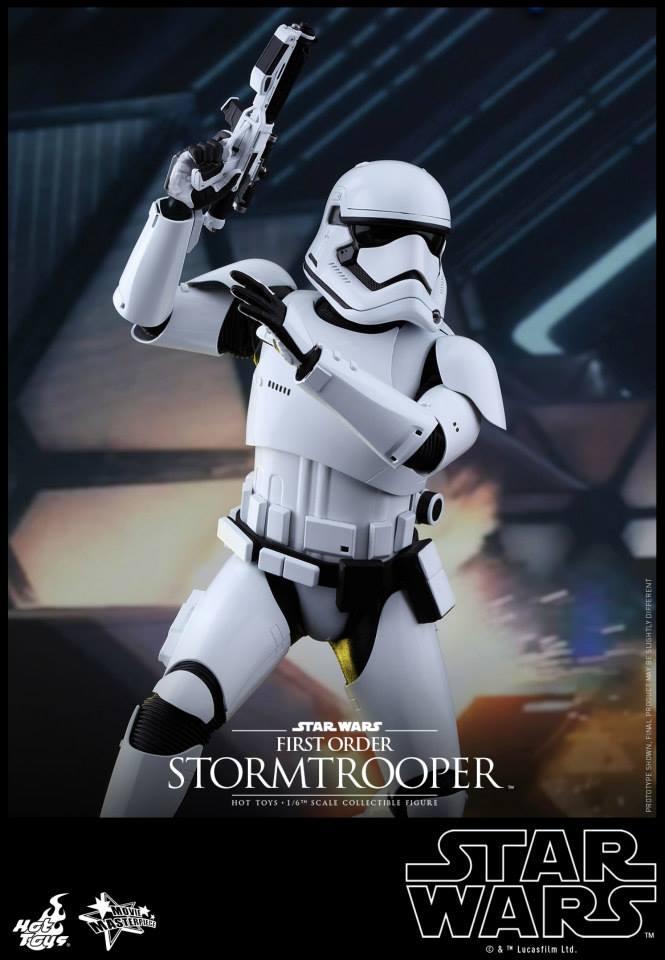 HOT TOYS - Star Wars: TFA -  First Order Stormtrooper 962872103
