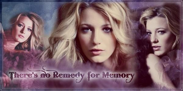 There's no remedy for memory ~ R.S. 963227LEEEEEEEEEEE