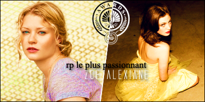 [Hasard] He who fears death dies every time he thinks of it - Catalina & Zoé (J6) 964923rplepluspassionnant