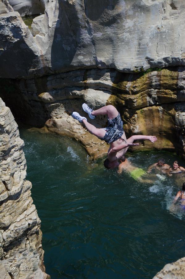 Plongeons aux cascades du Sautadet 964956DSC0484