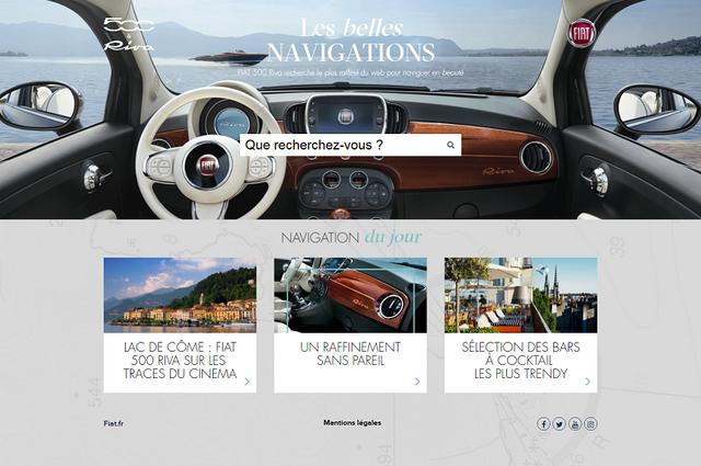 Commercialisation de la nouvelle Fiat 500 Riva - Vendredi 8 Juillet 2016 965279HPLesBellesNavigations