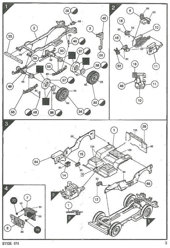 jeep indochine - Jeep Willys +Trailer Heller 1/35 966013JeepHeller135003