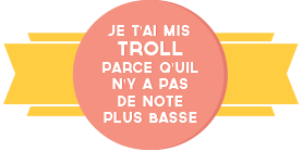 HISSONS NOS COULEURS 969002TROLL