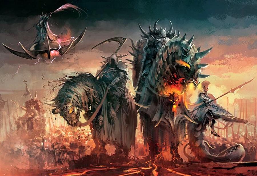 Warhammer Battle : Les nouveaux Guerriers du Chaos 969888Chaoslords