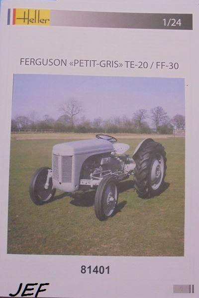 FERGUSON TE20 PETIT GRIS HELLER 1/24 969996FER002