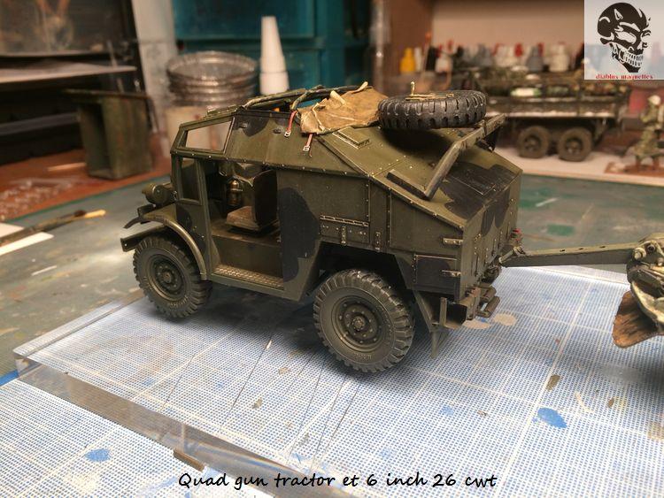 Quad gun tractor et 6 inch 26 CWT en Normandie 1/35 970093IMG4816
