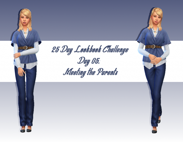 [Look] 25 Day Lookbook Challenge  970313Jour5