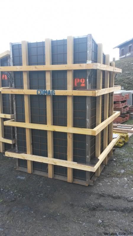 Construction du télésiège débrayable 6 places (TSD6) Roc de Tougne 97048420170603110209