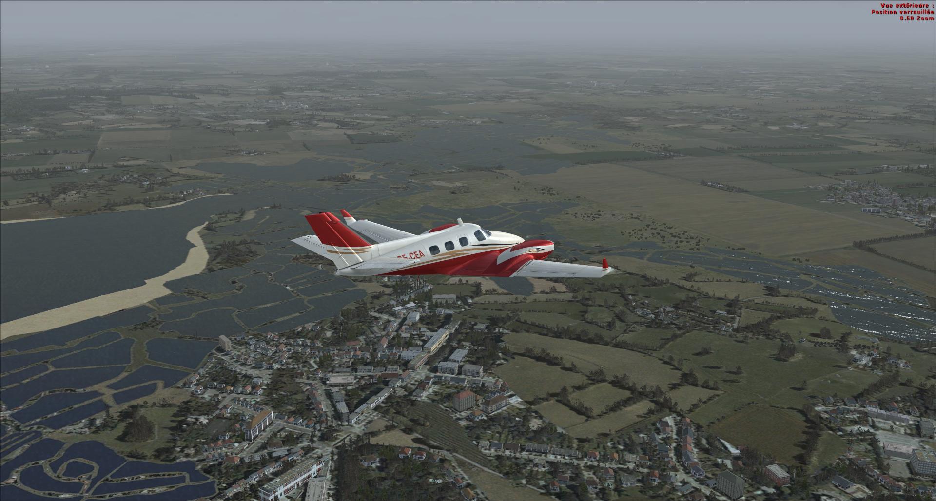 Rapport du vol: Ouessant (LFEC) à Ile de Re (LFBH) 9705322014114211844237