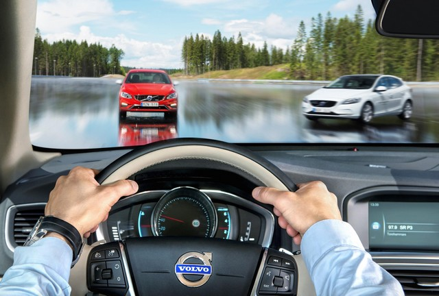 Bientôt un futur sans accident pour Volvo Cars grâce à l'ouverture du centre d'essais AstaZero 971143AstaZeroHighspeedArea2