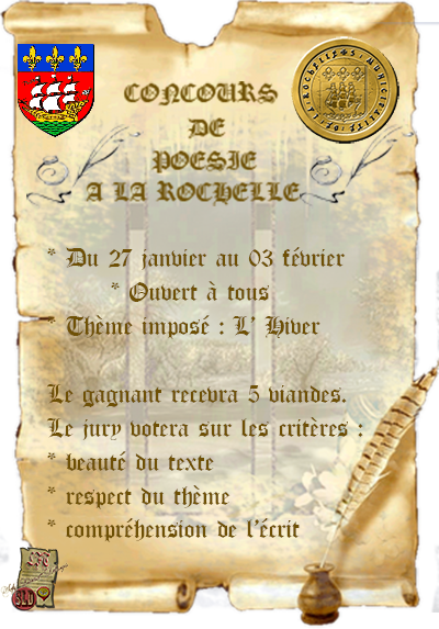 La Rochelle : informations 971154Afficheconcourspoesie