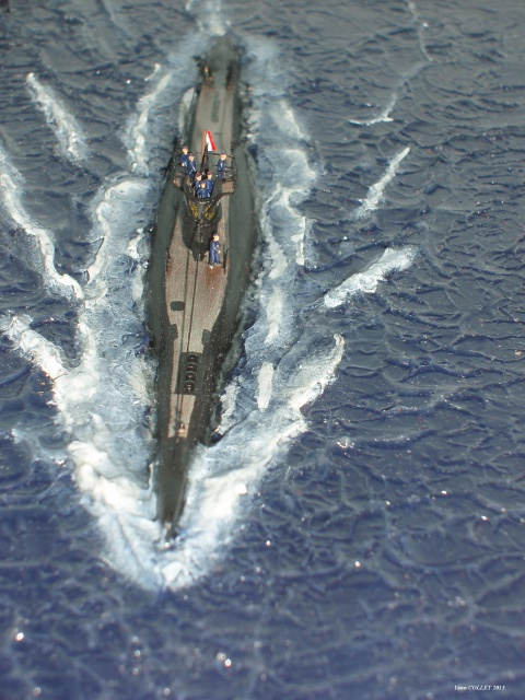 [Heller] sous-marin Laubie.  972095dio050