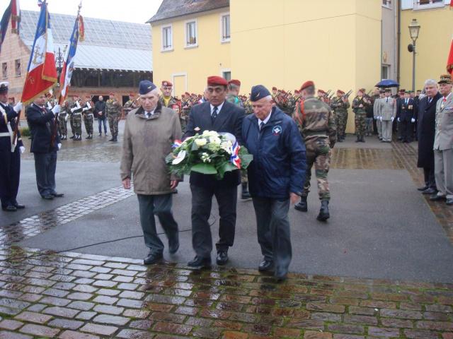Jebsheim : 60 parachustistes du 1er RCP commémorent la libération de la Poche de Colmar 973520064
